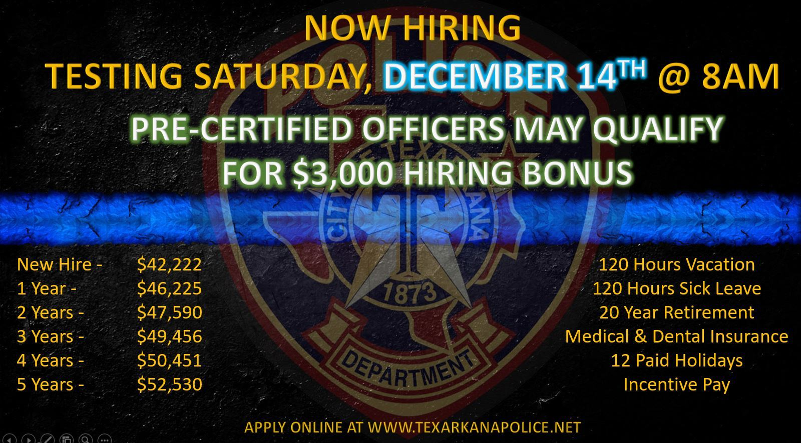 Recruiting Ad December 2019